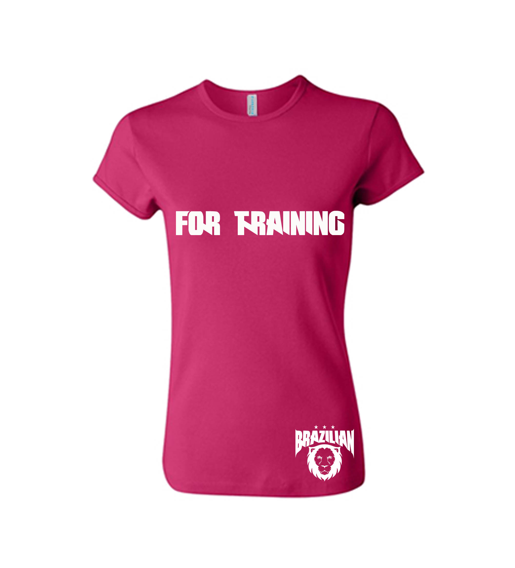 MODELO BABY LOOK feminina rosa for training 2